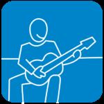 tocar instrumento musical