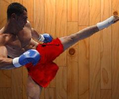 kick boxing hobby