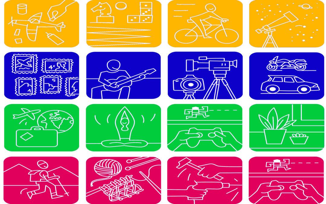 Clasificación de los hobbies por grupos o tipos (parte 1)