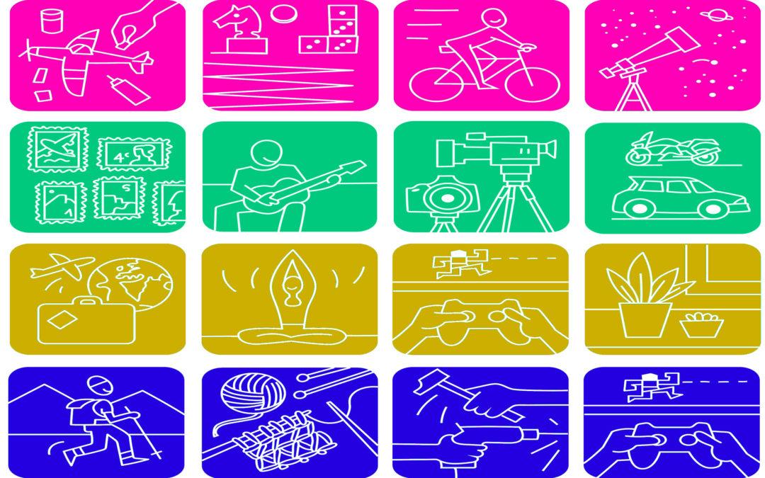 Clasificación de los hobbies por grupos o tipos (y parte 3)
