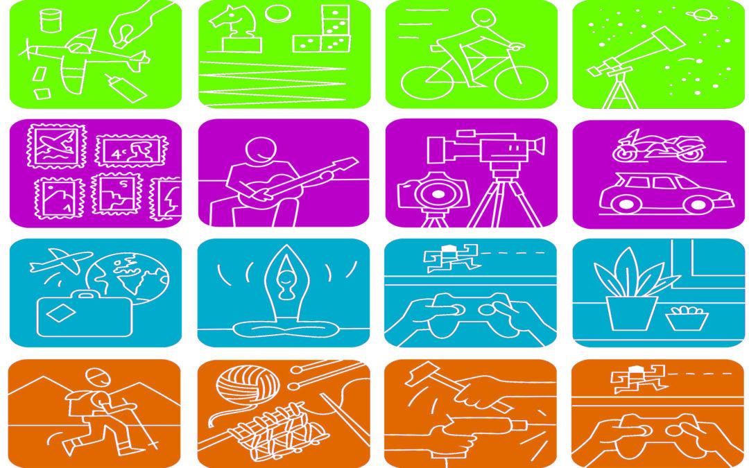Clasificación de los hobbies por grupos o tipos (parte 2)