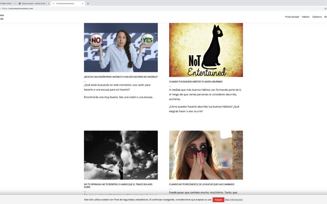 Hobbies y aficiones: utilidad informativa de los blogs