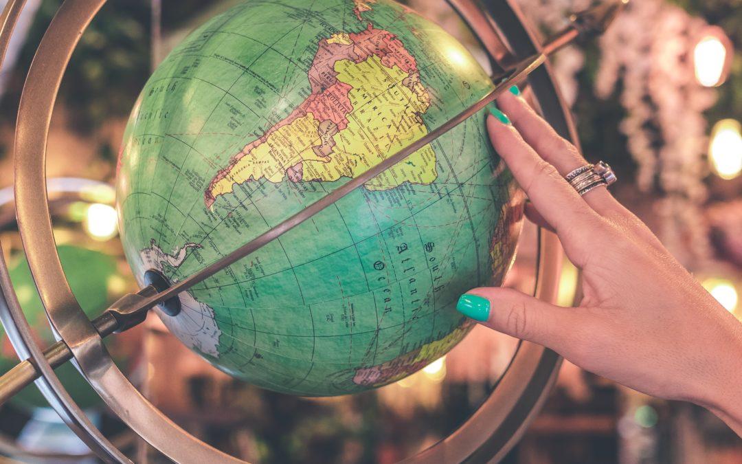 Hobbies más visitados según países